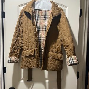 Burberry Diamond Quilted Wadding Jacket
